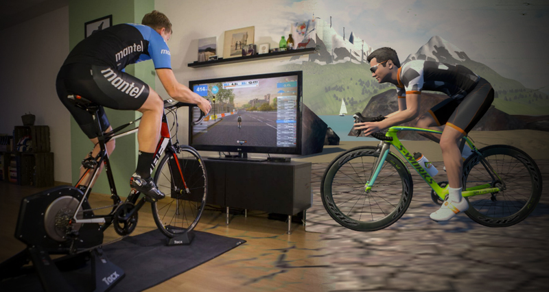 zwift entrenador virtual
