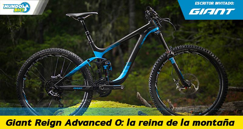 bicicleta enduro giant reign advanced