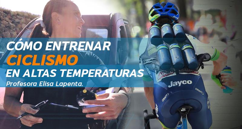 ciclismo en altas temperaturas