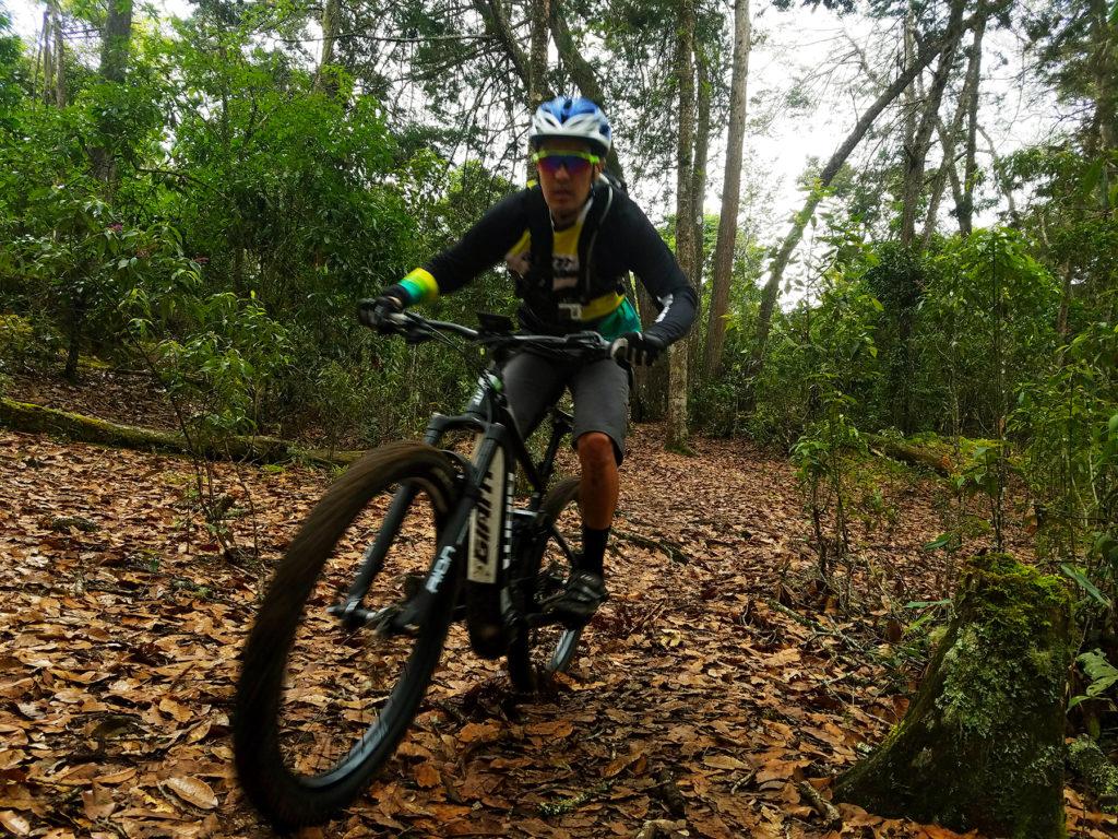probamos las bicicletas de montaña electricas de giant
