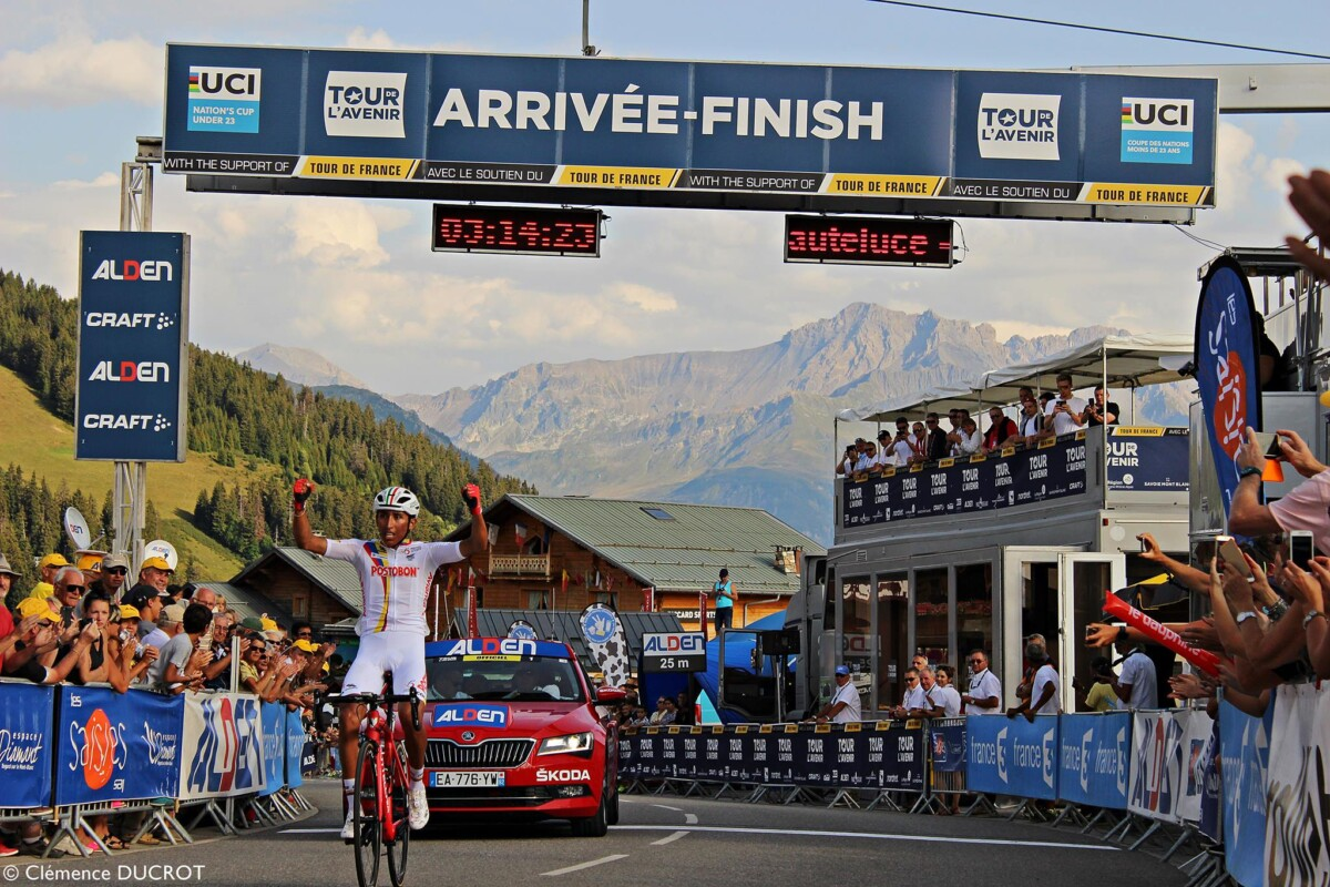 El joven de 21 años se coronó campeón del Tour de l'Avenir