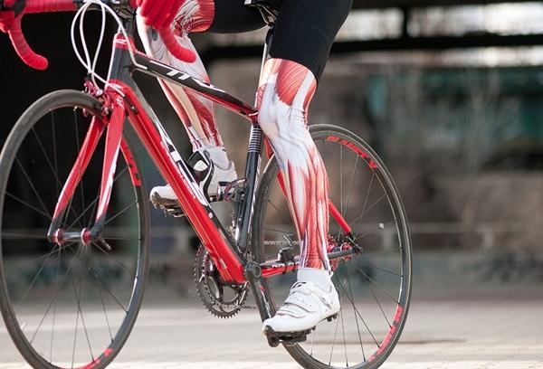 La fatiga muscular ocasiona las contracciones musculares involuntarias. Imagen: merkabici