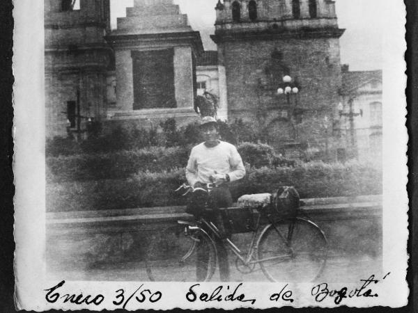el primer colombiano cicloturista