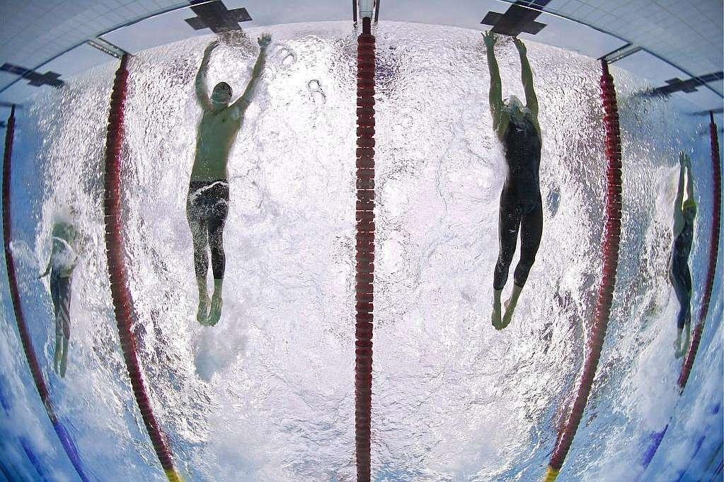 Phelps, conocido en las piletas como el 'Tiburón de Baltimore', es el máximo campeón olímpico. Imagen: Marca