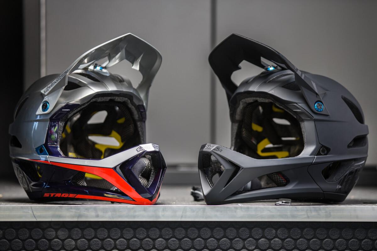 Los dos colores disponibles del nuevo prototipo con abertura en su barbilla para evitar el sobrecalentamiento.