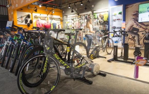 Todo lo que un ciclista quiere encontrar en un mismo lugar. Imagen. El Colombiano