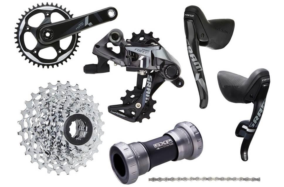 El SRAM Force CX1, sistema de transmisión de ciclocross 1x11.