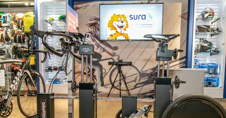 Nuevo centro de servicios especializados para bicicletas de SURA.