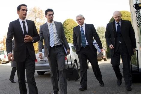 Mike Morgan (derecha) es el abogado que representa a Froome en el caso. Imagen: iusport