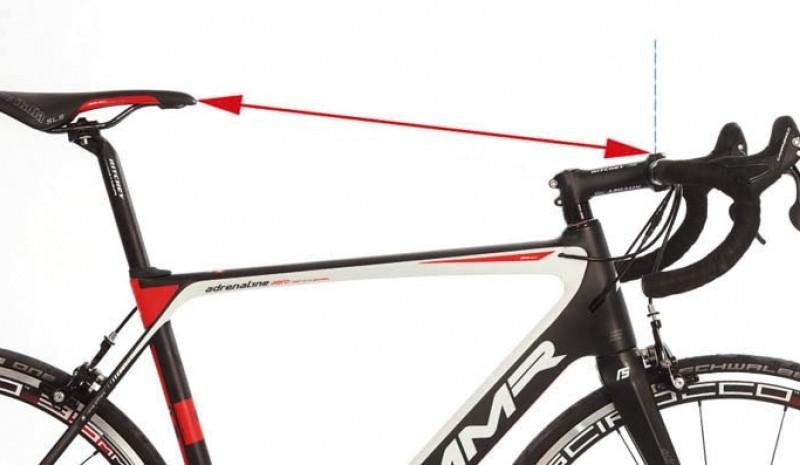 Determina la distancia entre sillín y manillar. Imagen: ciclismoafondo