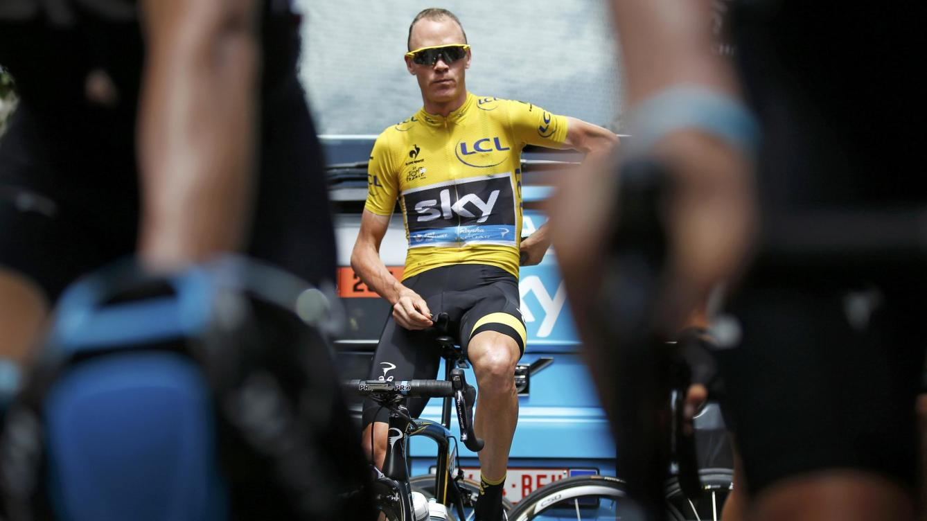 Froome afuera del Tour