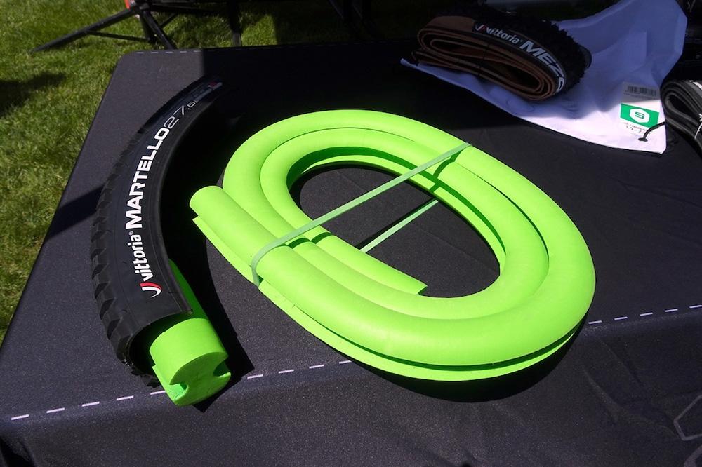 El Air Liner está diseñado para trabajar con neumáticos de cualquier fabricante, no solo neumáticos Vittoria.