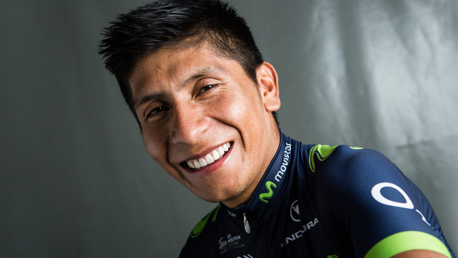 Marca deportiva de Nairo Quintana