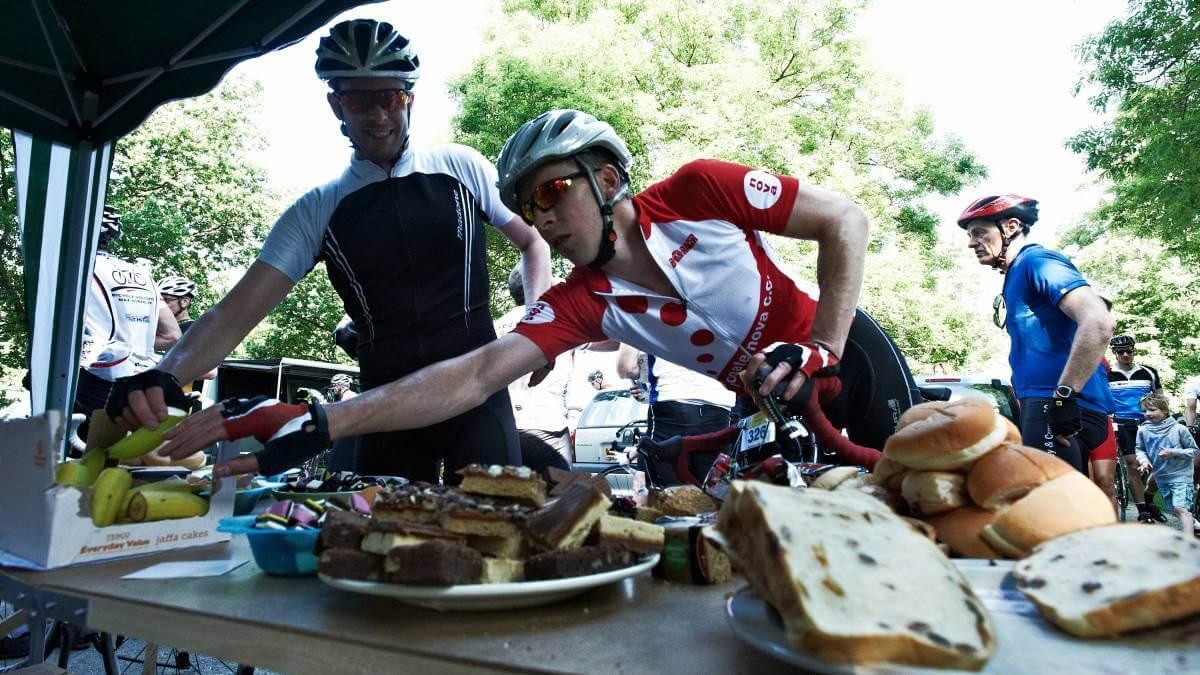 Qué comen los ciclistas