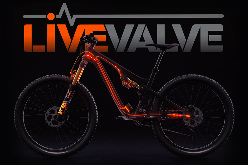 Live Valve incorpora acelerómetros o sensores electrónicos