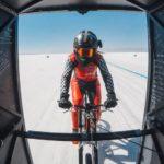 296 kilómetros, el nuevo récord de velocidad en bicicleta