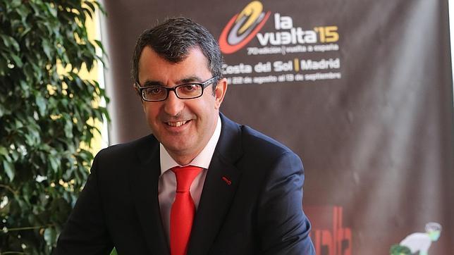 El director de Unipublic prohibió los besos de las modelos a los ciclistas