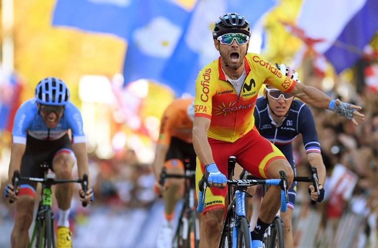 El corredor español que ganó el mundial al sprint
