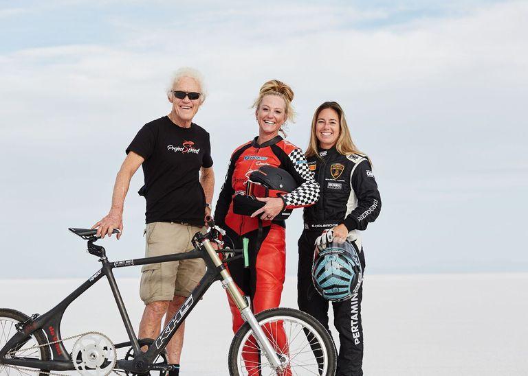 Denis Mueller, la mujer más rápida del planeta