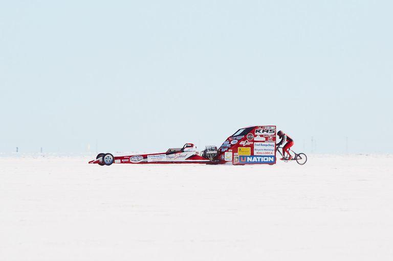 Increíble registro de una mujer, considerada la más veloz del planeta