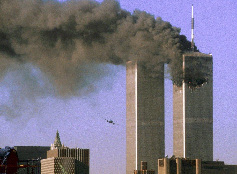El atentado terroristas contra las torres gemelas