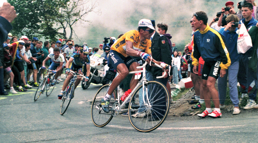 Miguel induráin uno de los mejores ciclistas del planeta