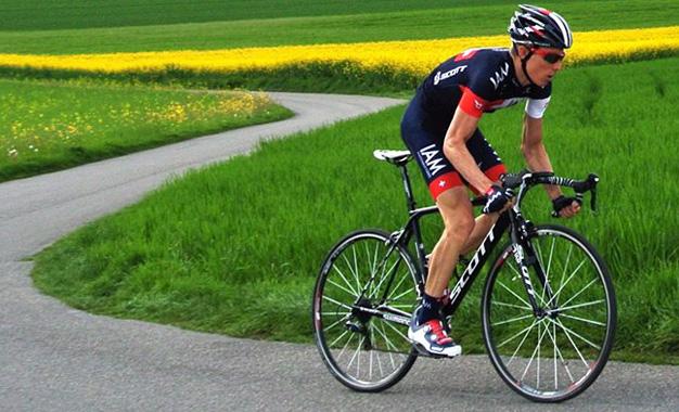 No olvides hacer tus rutinas para ser el mejor en la bici