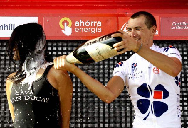 El Giro no ha querido modificar los protocolos de premiación