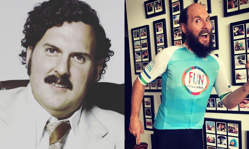 El actor colombiano rebajó 40 kilos a punta de bicicleta