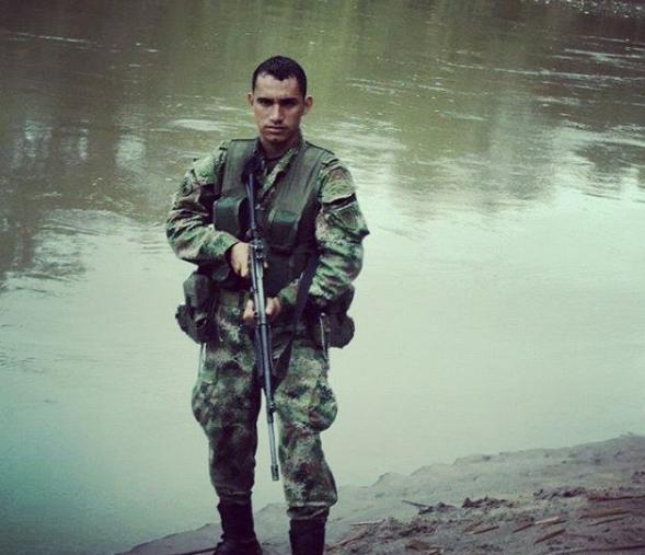 Mucho Man fue un soldado profesional del ejercito colombiano