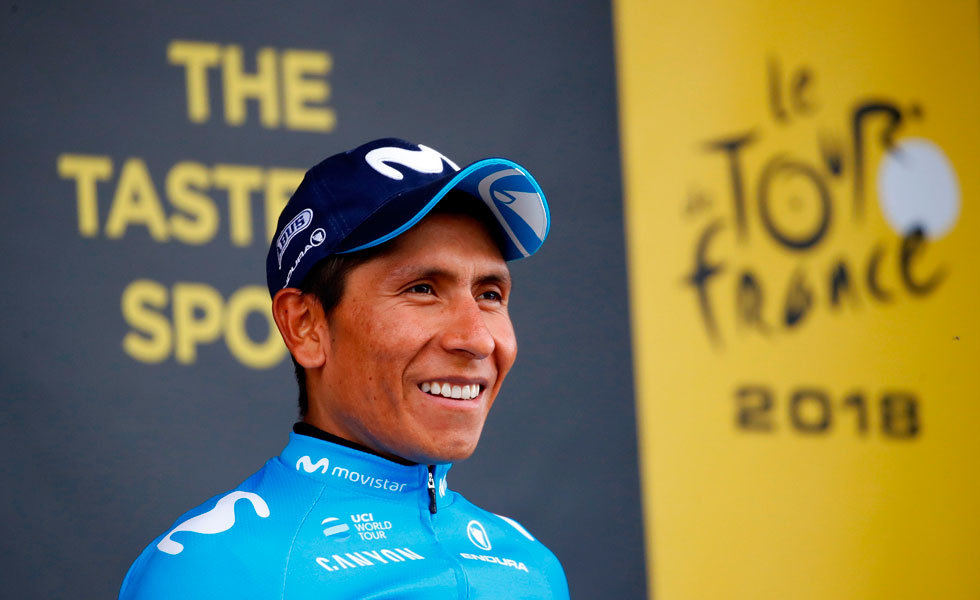 Nairo Quintana quiere ganar el Tour del próximo año