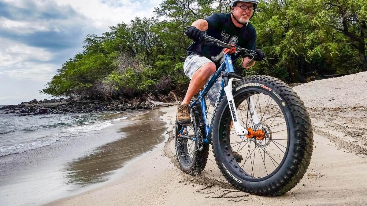Las Fat Bikes rígidas son ideales para la nieve y la arena