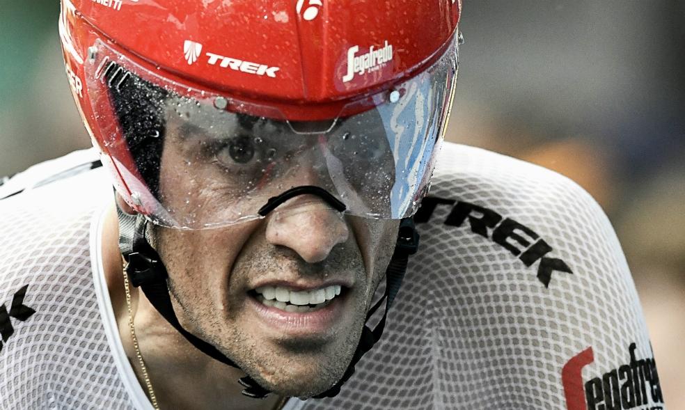 Alberto Contador rechazó la oferta del Movistar