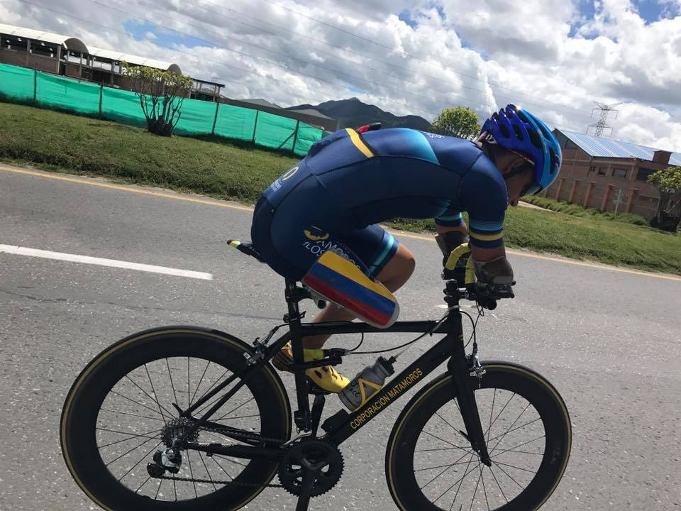 El ciclista colombiano que busca un cupo en Tokio