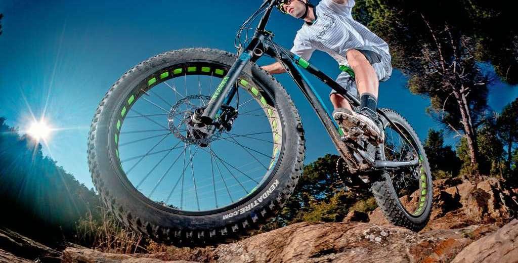 La Fat Bikes son ideales para terrenos accidentados