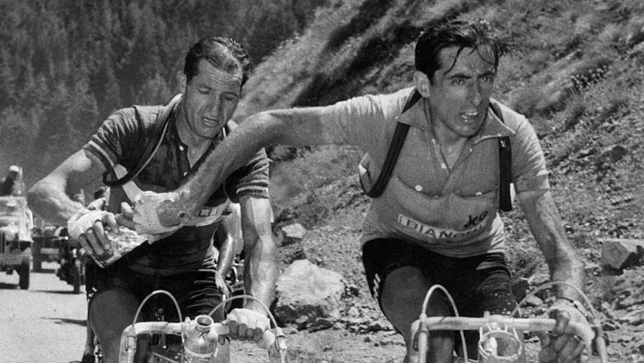 Coppi y Bartali, los dos rivales más recordados en los inicios