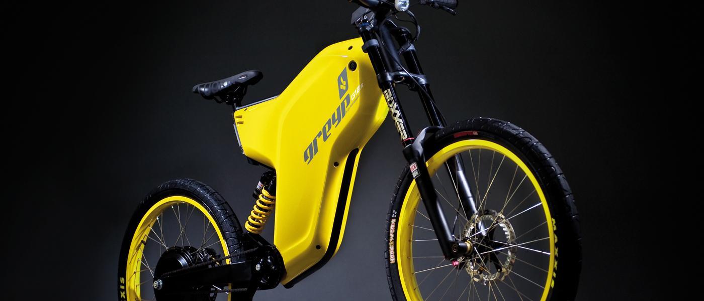 La Greyp G12S es una bicicleta eléctrica que se asemeja a la categoría de ciclomotores