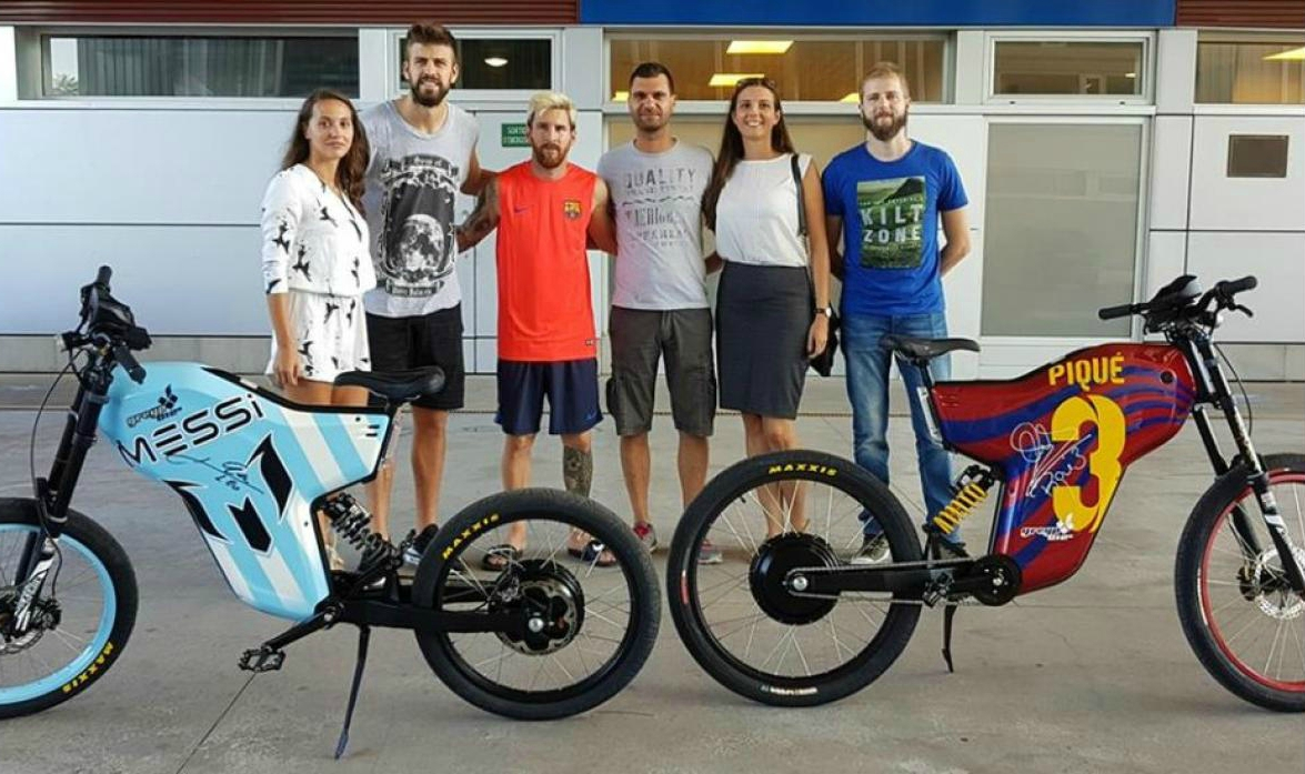 Greyp G12S, una potente bicicleta eléctrica de lujo
