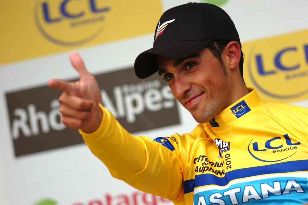 El famoso Pistolero Alberto Contador