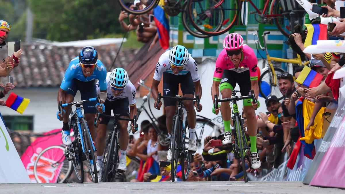 Las cuatro figuras que estarán presentes en el Tour Colombia 2019