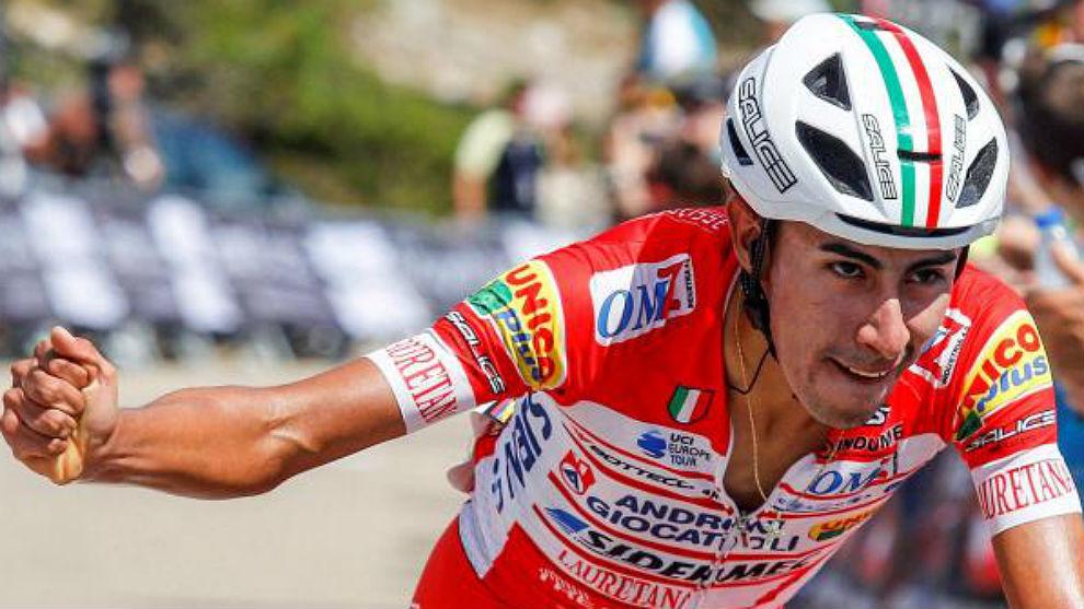 Iván Sosa, de 21 años debutará en el World Tour