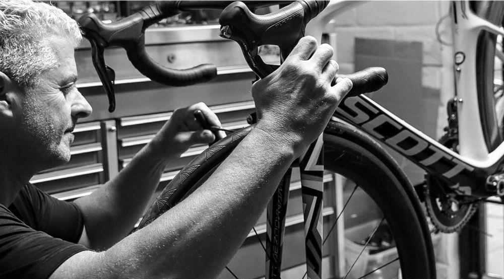 Mantenimiento y revisión de las llantas de la bicicleta