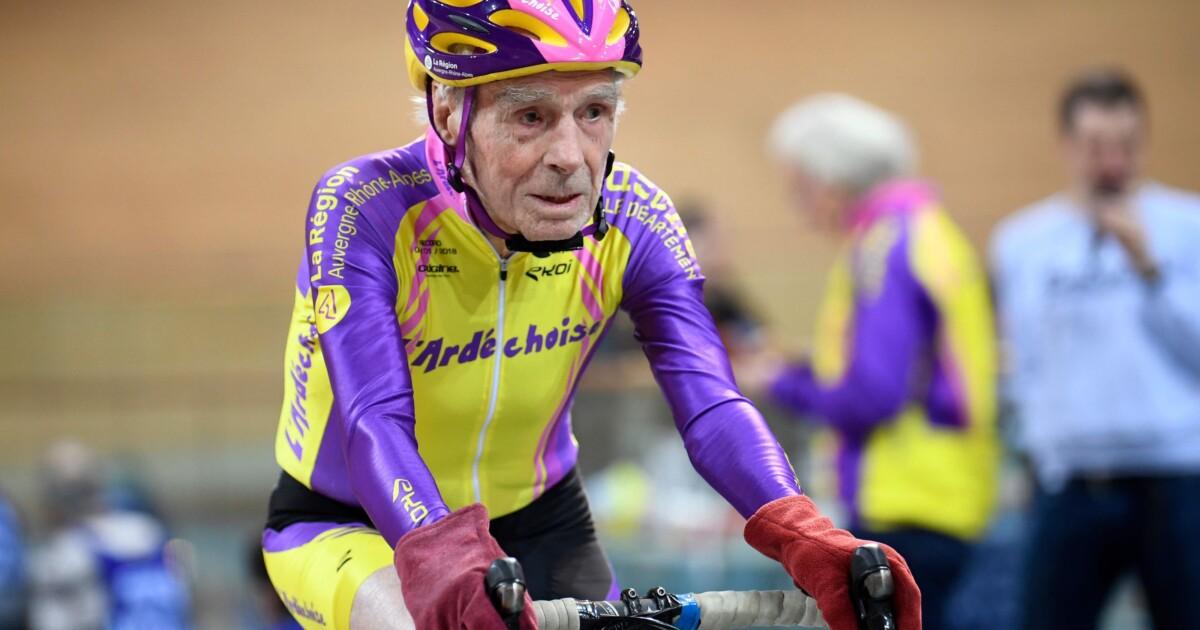 Robert Marchand, el ciclista más viejo del pelotón