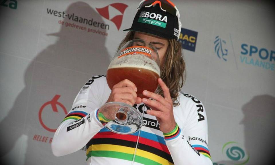 Cerveza y ciclismo