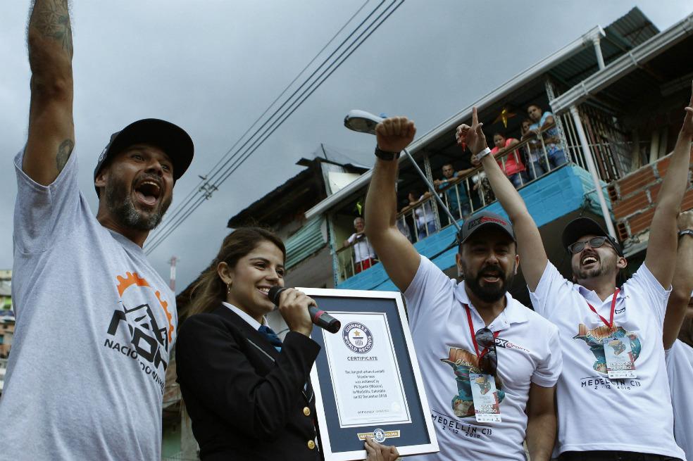 Medellín recibe el récord