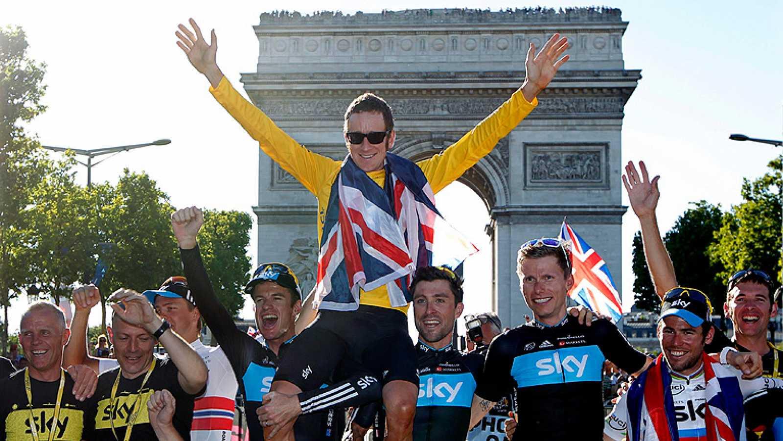 El primer inglés en ganar el Tour de France