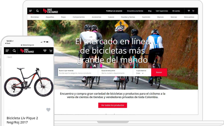 Mercado online con componentes de ciclismo más grande del mundo