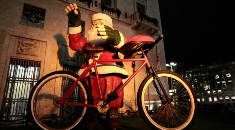 Todos los ciclistas merecen un regalo en navidad