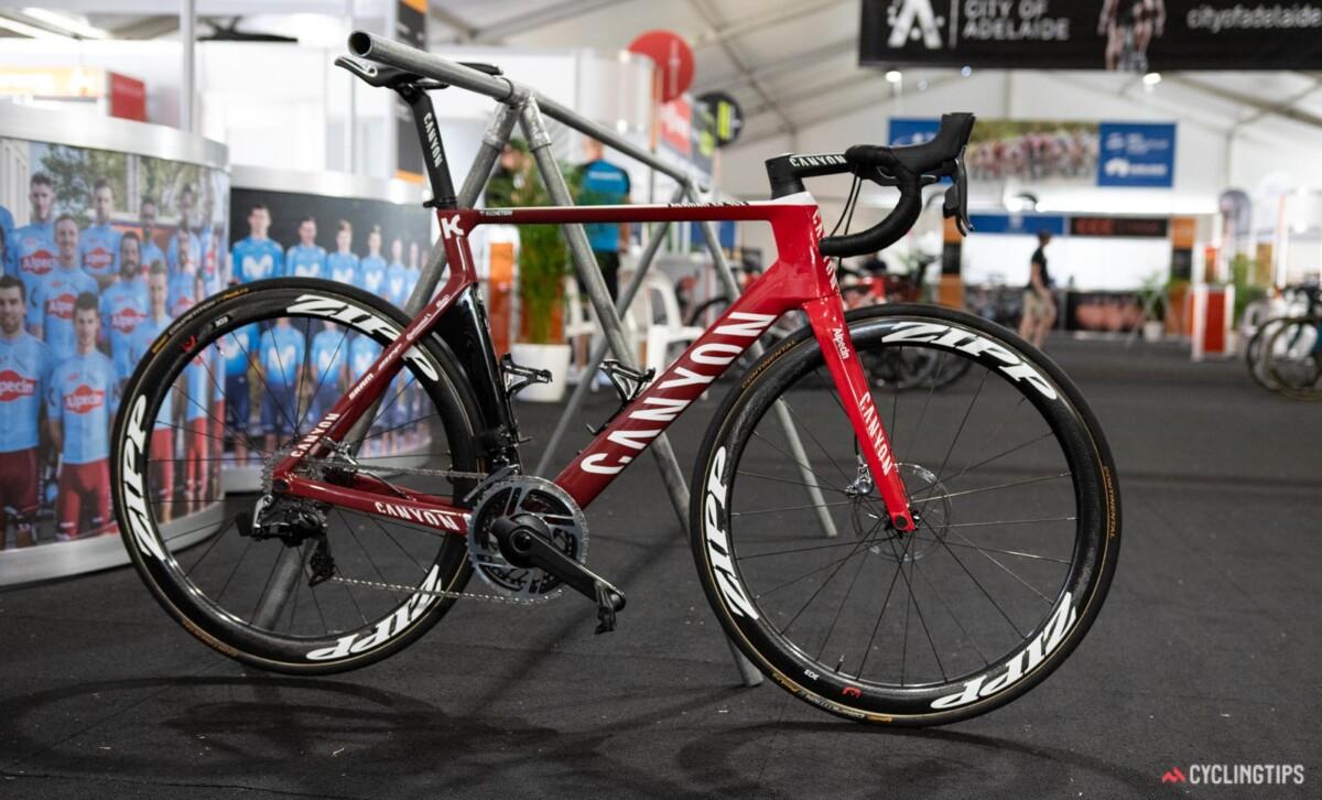 Bicicleta del Team Katusha