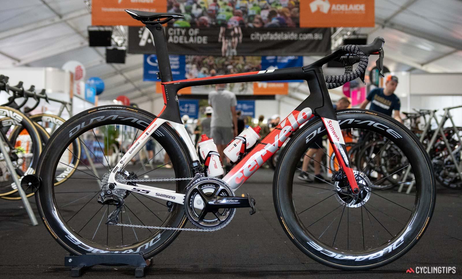 La bicicleta del Team Sunweb